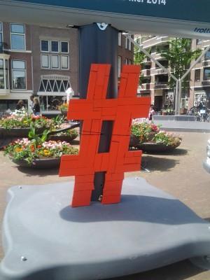 Hashtags voor design-kwartier