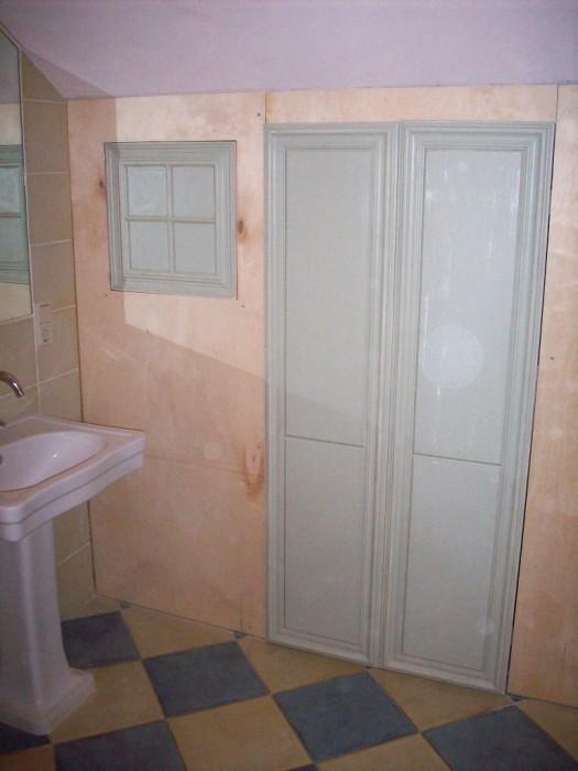 Badkamerwand in stijl