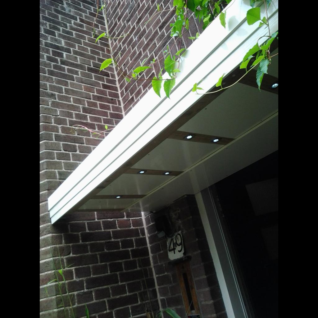 Afdakje voordeur