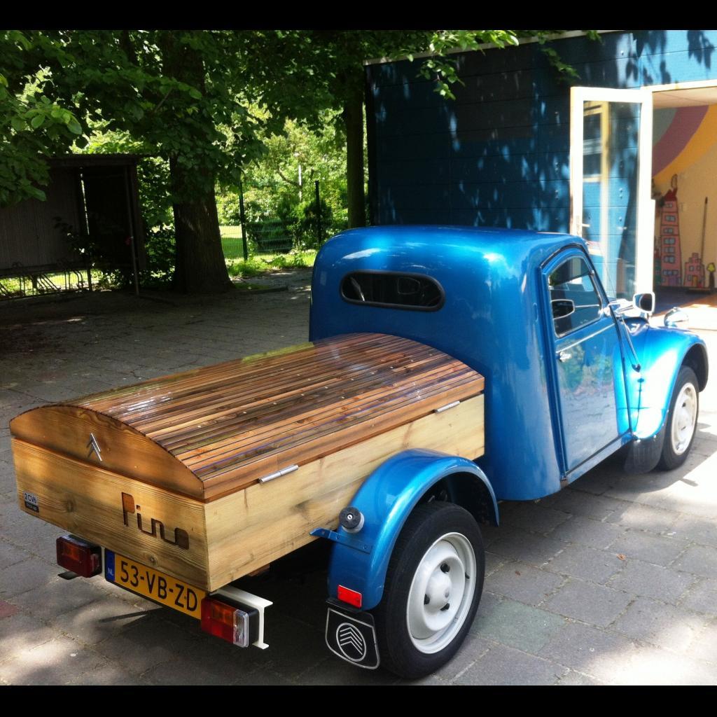 2cv pino nieuwe pick-up